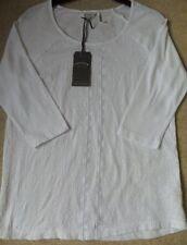 Fat Face Women's Cotton Hip Length 3/4 Sleeve Sleeve Tops & Shirts