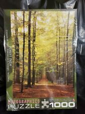 Forest Path Eurographics 1000Pc Jigsaw Puzzle NIB