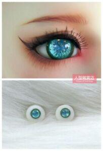 16mm Resin Eyes For 1/3 1/4 1/6 BJD Doll Doll Dollfie Handmade Human iris Blue