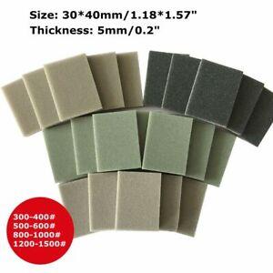 10X Wet Dry Bodywork Foam Sanding Block Fine Coarse Grit Sandpaper Sponge Pads