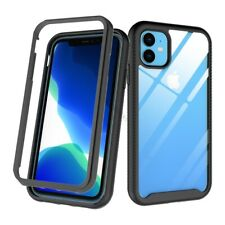 For iPhone 11 Heavy Duty Armor Case Dual Layer Shockproof Bumper Frame Cover