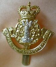 Staybrite Leicestershire and Derbyshire Yeomanry Cap Badge QC Anodised JR GAUNT