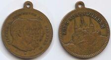 M665 - Germany Medal Burg Hohenzollern - Wilhelm II. Friedrich III. Wilhelm I.