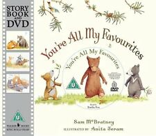 You're All My Favourites Book and Dvd  NEW FREE P&P