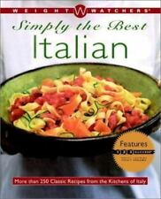 WEIGHT WATCHERS SIMPLY THE BEST ITALIAN-HARDCOVER