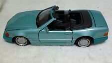 Mercedes Benz 500 S SL convertible 1:24 scale Diecast Metal Model Car by Maisto