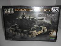 RUSSIAN HEAVY TANK KV-2 FORCES OF VALOR 1:72 MODEL KIT UNIMAX