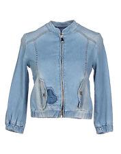 $580 Blugirl Folies Designer Denim Jacket Blue Size F 40 IT 38 US S NWT