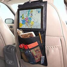 siège arrière voiture organiseur rangé avec comprimés Support voyage ipad galaxy