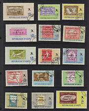 Olympics Athens 1896 to Tokyo 1964 Marathon CTO Never à vantail STAMPS on STAMPS