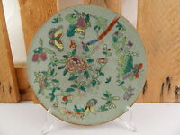 ANTIQUARIATO ORIENTALE PIATTO CELADON CHING TAO KUANG 1821-1851 CHINESE PLATE