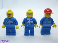 LEGO MINIFIGURES TLS5053 OCT066 OCTO56A OCTAN TOWN CITY GUYS AS PER THE PICTURE