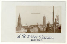 DRESDEN - ZEPPELINTAG 26.9.1924 ZRIII über STADTZENTRUM (10861/106N)