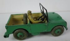 DINKY TOYS * NO 340 / 341 * LAND ROVER JEEP WITH 2x TRAILER