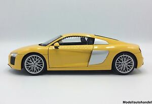 Audi R8 V10  gelb 2016  -  1:18 Welly > NEW <  SUMMER SALE $$$