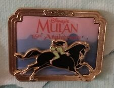 Pin Disney Mulan and Khan 15th Anniversary