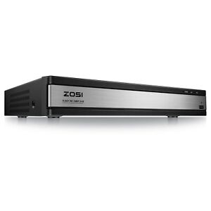 ZOSI H.265+ 16Channel 1080P TVI HD Surveillance CCTV DVR security camera system