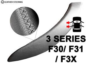 BMW 3 Series F30 F31 F34 F35 F80 Door Handle Black Leather Cover LEFT