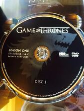 Game of Thrones Season 1 disc 1 Replacement Disc DVD ONLY
