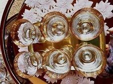 Murano+ 6 Gläser+Glas Gewicht  320 gr pro Glas +Top ! Rarität +Sammler !!