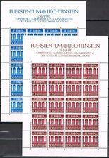 Europa CEPT 1984 vellen Liechtenstein 837-838 cat waarde € 40