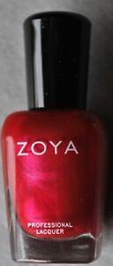 "ZOYA Professional Nail Polish Lacquer ""Koley"" Ruby Pink Metallic F/S NEW"
