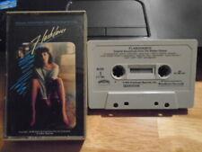 RARE OOP Flashdance CASSETTE TAPE ost IRENE CARA Laura Branigan Donna Summer '83