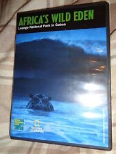 LN DVD AFRICA'S WILD EDEN National Geographic Loango Park In Gabon Wildlife RARE