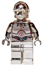 **NEW** LEGO Custom Printed - CHROME TC-14 - Star Wars Polybag Clone Minifigure