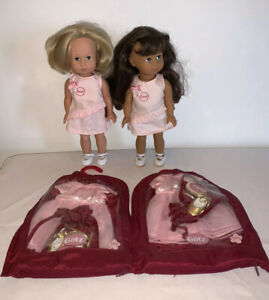 """Gotz Just Like Me Harrods special 12"""" girl dolls +extra Outfit"""