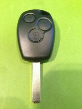 RENAULT CLIO 3 KANGO 3 MODUS 3 BUTTON REMOTE KEY cut and coded to your car