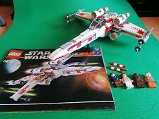 Lego Star Wars 6212 X-Wing Fighter 100% completo con instrucciones