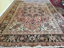 8 x 11 or 7.6 x 10.8 Antique Fine Heriz Rug Vintage Serapi Ushak Kazak Caucasian