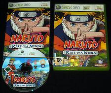NARUTO RISE OF NINJA XBOX 360 Versione Italiana 1ª Edizione ••••• COMPLETO