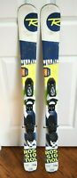 ROSSIGNOL TERRAIN SKIS SIZE 116 CM WITH ROSSIGNOL BINDINGS
