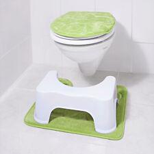 ASDAF Wei/ß Hocken Toilette Hocker Badezimmer Plumpsklo Hocker 7 Zoll,1