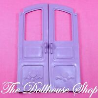 Fisher Price Loving Family Dream Dollhouse Purple Replacement Front Doors