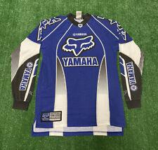VINTAGE FOX RACING YAMAHA MOTOCROSS JERSEY Shirt Team Issued