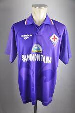AC Florenz Home Trikot Fiorentina Gr. M 1995-1996 Reebok 90s vintage Sammontana