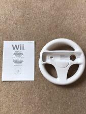 Nintendo Wii Steering Wheel - White