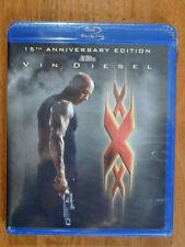 xXx 2002 15Th Anniversary Edition 2017 Blu Ray New Sealed Vin Diesel Thriller