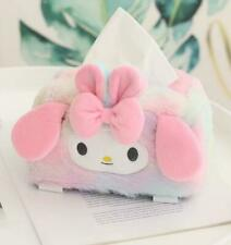my melody gift plush tissue box cover tissues holder decorate model new