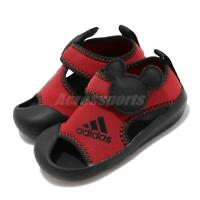 706758df2 adidas AltaVenture Mickey I Disney Black Red TD Toddler Infant Sandals  D96909
