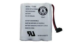 Uniden BT-905 Rechargeable Cordless Handset Telephone Battery 3.6V 600mAh 1-Pack