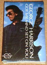 GEORGE HARRISON - Got My Mind Set On You- US cassingle cassette tape single -NEW