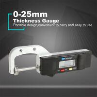Elektronisch LCD Digital Dickenmessgerät Dickenmesser Gauge Messschieber 0-25mm