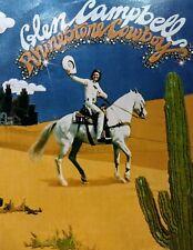 Glen Campbell Rhinestone Cowboy LP Vinyl Record Album 1975 White Horse Cactus