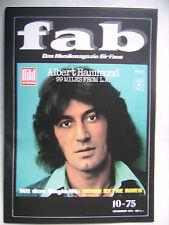 FAB - Musikmagazin für Fans aus 1975 - Albert Hammond, Bee Gees, Tremeloes etc.