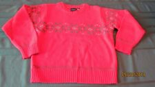 Boys SizeL(7) Red Snowflake Sweater - FREE Shipping