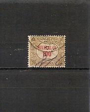 UNGHERIA 1922, servizio, 1v usato,perforato a triangolo,Yvert n° 16  (pha048)